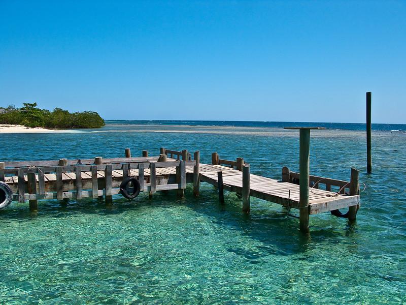 an island off the coast of honduras  honduras