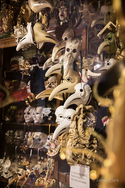 Masks...Venice, Italy -  October 2017
