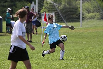 U17 Girls Addison United vs Gloucester Hornets Extreme Green