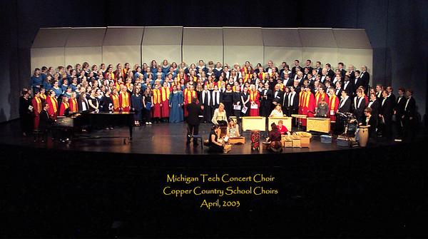 MTU Concert Choir -- Various