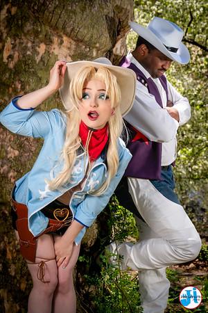@cucumbercosplay & @thisspoonybard Cowboy Beebop Cosplay Photoshoot Central Park April 2021
