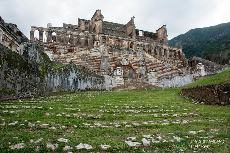 Sans Souci Palace in Ruins - Milot, Haiti