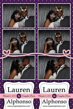 2014-11-08 Lauren & Alphonso's Wedding