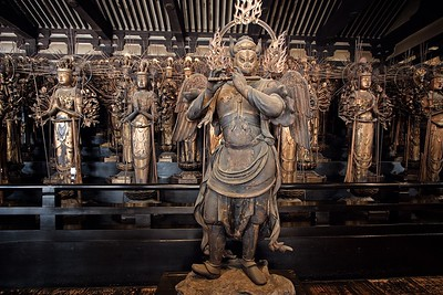The Sanjusangendo Temple 1001 Statues