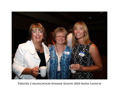 Theatre Collingwood Summer Season 2010 Media Launch