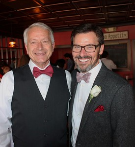 Steve Eaton and Kevin Benson wedding - 01/20/15
