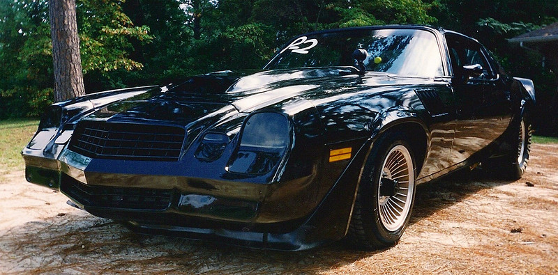 Scan of a picture of my 79 Z28 Pro Street Car