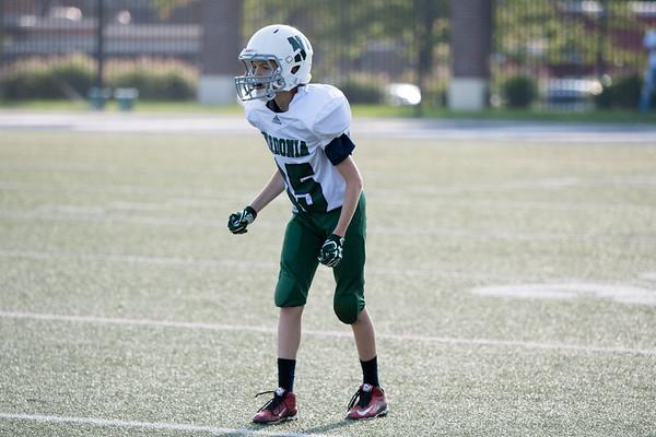 Justin 7th Grade Football vs. Hudson