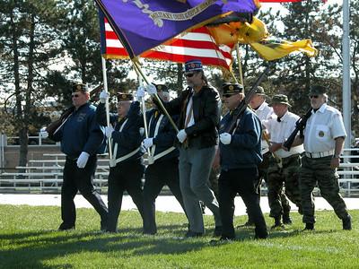 Oregon Vietnam Veterans Memorial Dediacation