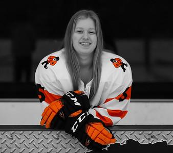 Jenna Hockey BW