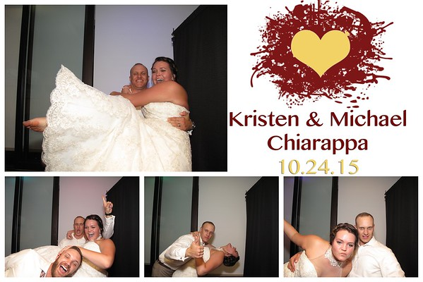 Kristen & Michael Wedding Photo Booth