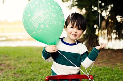 Jackson's turning 3