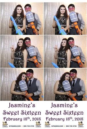 Jasmine's Sweet  16