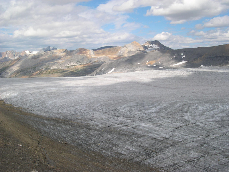 Other Half: South side of the icefield with the unremembered name.