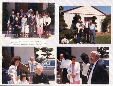 6-4-1988 Jichan Kouno 50th Ohaka @ Gardena Buddhist
