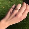 1.86ct Rustic Rose Cut Diamond Bezel Ring 5