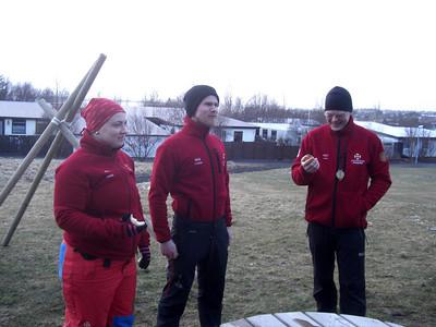 Óvissuferð hjá leitartækni 11. apríl 2011