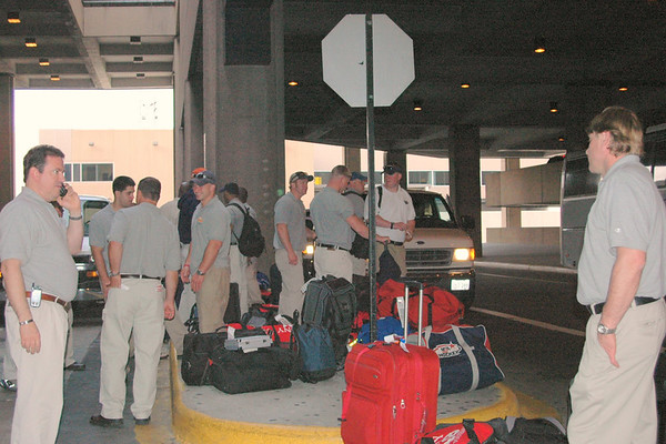 2006 The Bravest arrive in Houston 2006