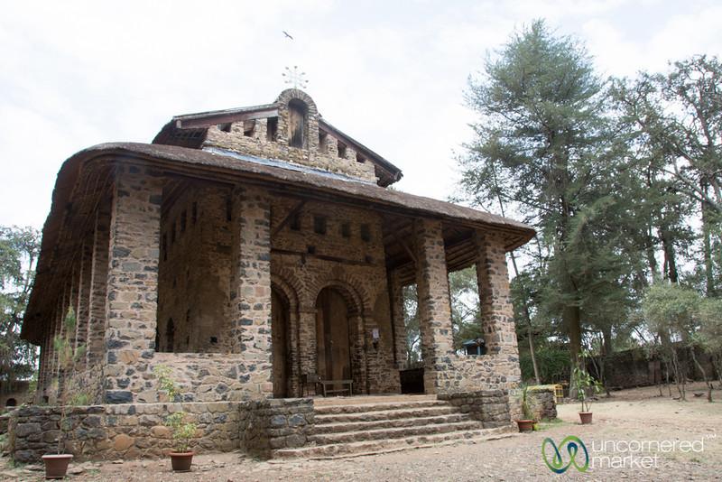 Debre Birhan Selassie Church - Gondar, Ethiopia