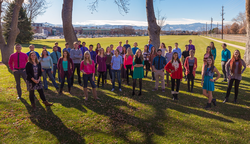 Arvada West Vocal Showcase Group Shots