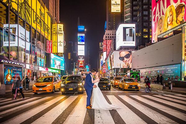 Becky & George Wedding, New York City