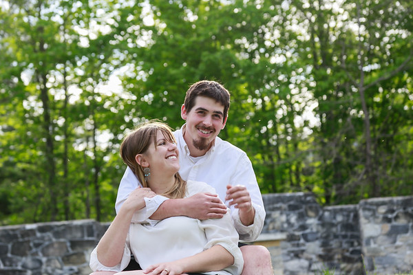 Jo-Ellen & Spencer's Berkshires Engagement Session