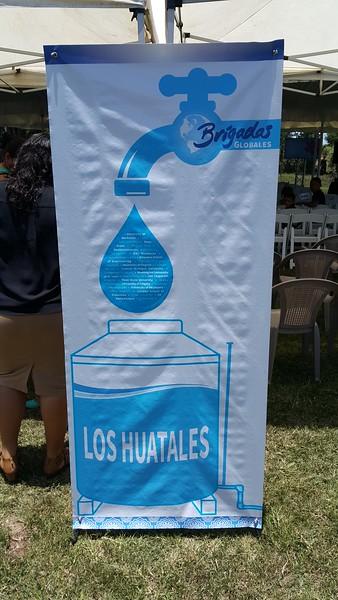 Los Huatales Water System Inauguration, Honduras, 2016