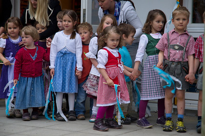 Kindergarten-Maifest am 3. Mai 2013