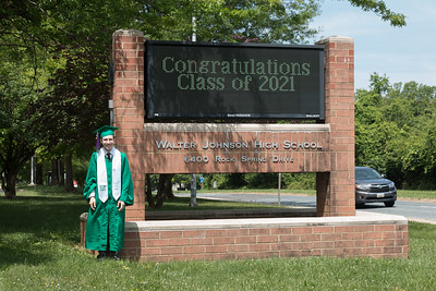 2021 Rafael  - Walter Johnson HS Graduation