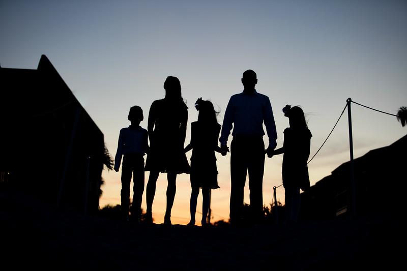 Hunziker Family, Jacksonville Beach, Florida
