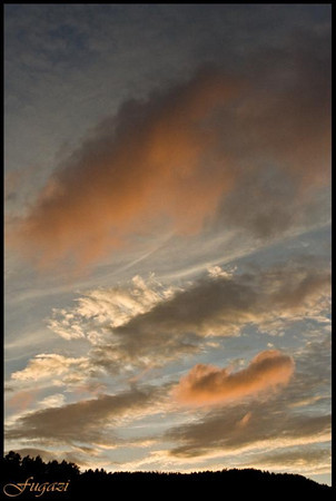 The Sky abowe us....