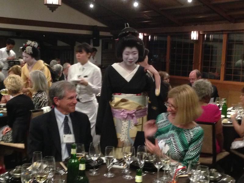 Garbers and Geisha, Kyoto - Leslie Rowley S95