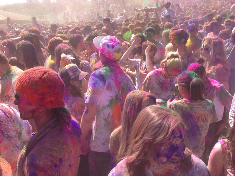 Holi Festival of Color Utah 2013 - Fantastic Day!