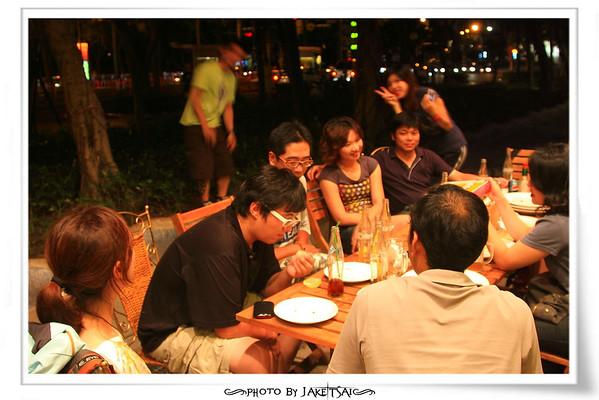 20100725 明月光聚餐