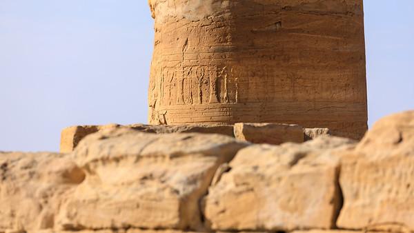 Säule des Amun-Tempels von Soleb