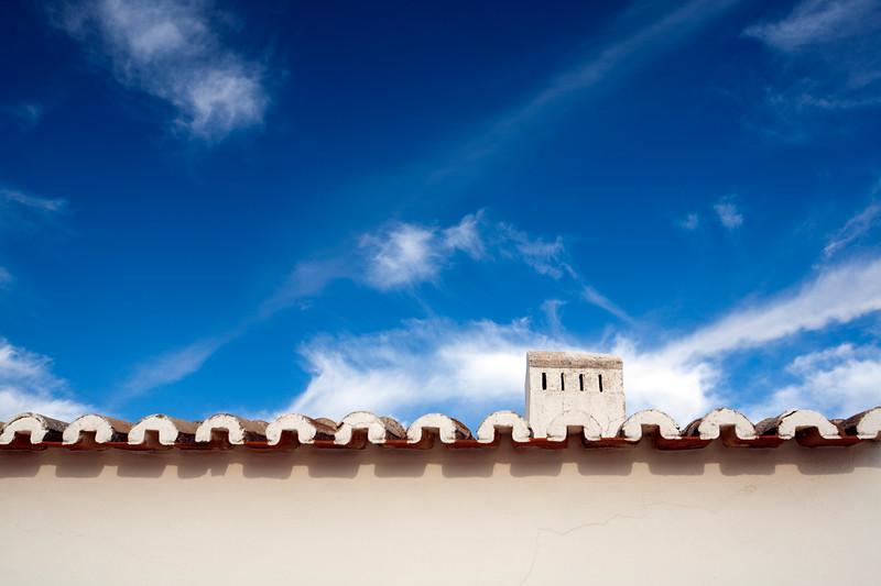 Typical architecture, town of Porches, municipality of Lagoa, district of Faro, region of Algarve, Portugal