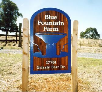 Old Blue Fountain Farm