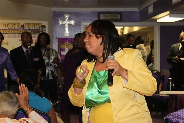 IBG Fellowship Ministry, Palm Sunday Service Pastor Mildred Chatmon- Power of Prayer Ministries