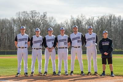 2018 PRHS Varsity Baseball Seniors