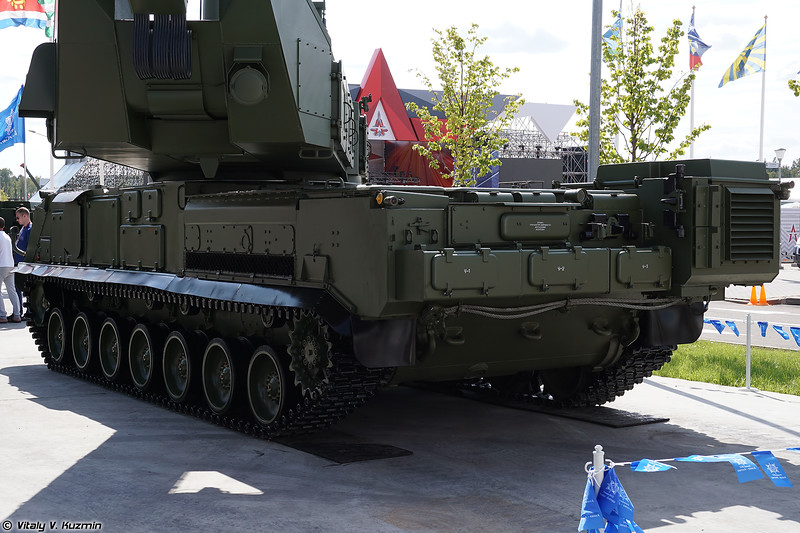 РЛС подсвета и наведения 9С36М ЗРК 9К317М Бук-М3 (9S36M engagement radar of 9K317M Buk-M3 system)