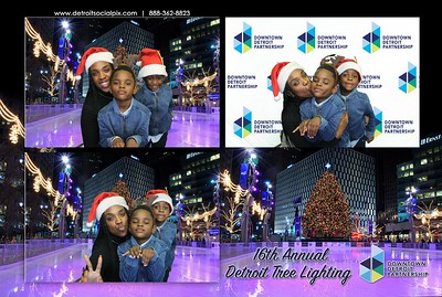 16th Annual Detroit Tree Lighting