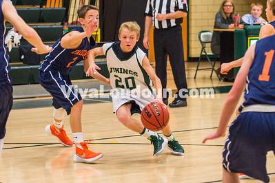 Boys Freshman Baseketball:  Briar Woods vs Loudoun Valley 12.01.2015 (by Michael Hylton)