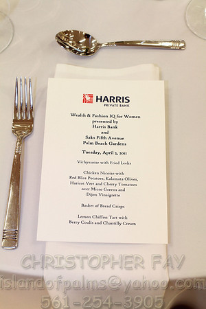 Harris Bank Fashion & Wealth I.Q. at Saks