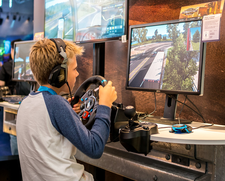American Truck Simulator at Gamescom 2015
