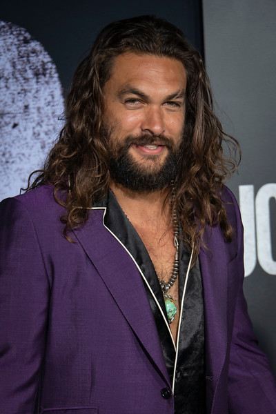 "HOLLYWOOD, CALIFORNIA - SEPTEMBER 28: Jason Momoa attends the premiere of Warner Bros Pictures ""Joker"" on Saturday, September 28, 2019 in Hollywood, California. (Photo by Tom Sorensen/Moovieboy Pictures)"