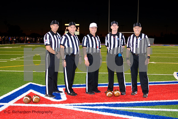 Officials Arcadia vs Piston Butte 10-19-18