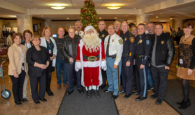 2018 Bergen County Police Chiefs visit Holy Name Medical Center