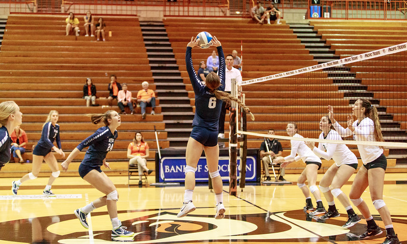 BYU v UOP Volleyball 2017