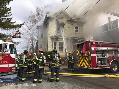 Structure Fire - 20 Arlington St, Haverhill, MA - 4/8/17