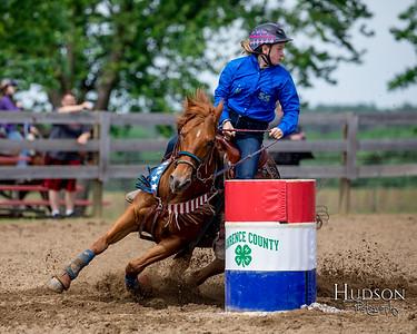 13. Barrels Pony, Jr. Rider